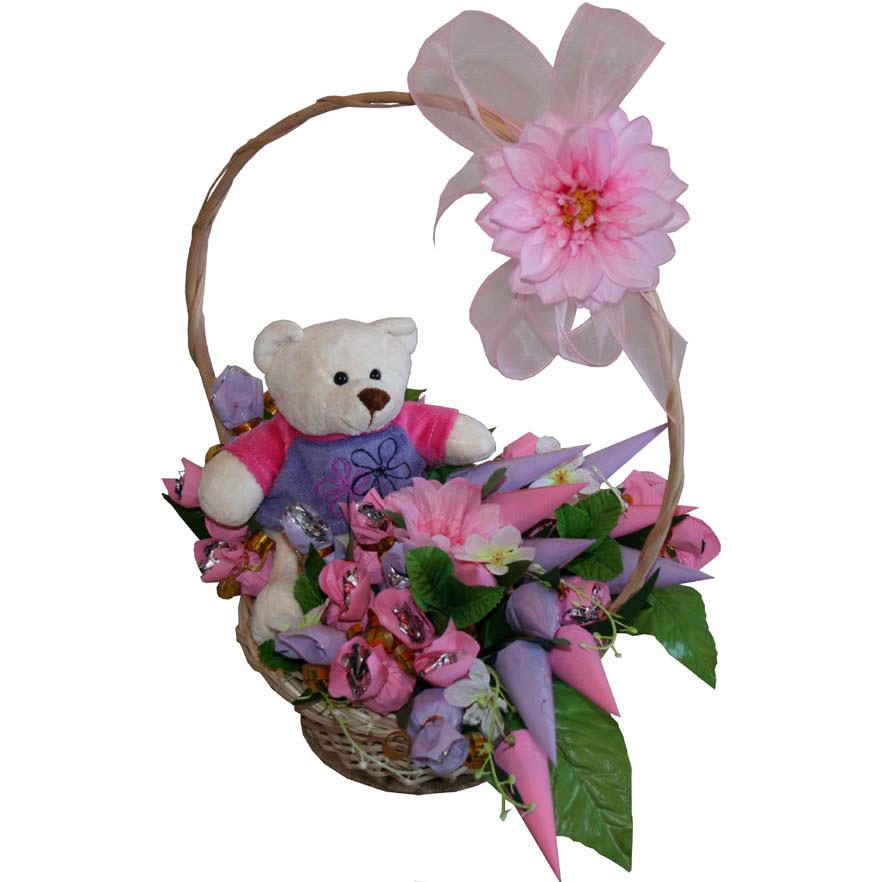 Цветов, детские букеты и композиции из цветов