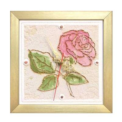 Часы настенные Роза