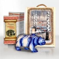 Подарочный набор Сибирь. Медведь
