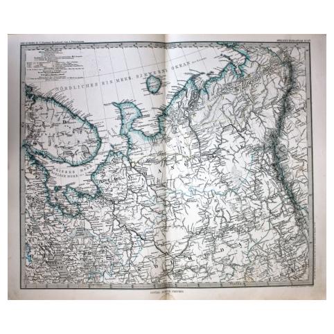 Карта «Архангельская область»