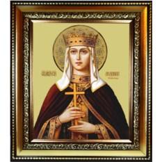 Икона на холсте Людмила Чешская Княгиня, Святая мученица