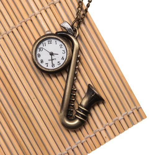 Подвеска-часы «Саксофон»