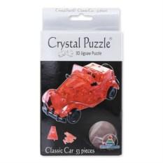 3D-головоломка Crystal Puzzle «Автомобиль» из 53 деталей