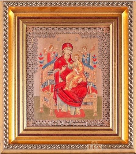 Гравюра-Образ Пресвятой Богородицы Всецарица