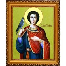 Икона на холсте Трифон Апамейский Святой мученик