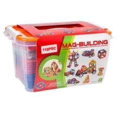 Магнитный конструктор Mag-building, 118 деталей