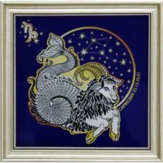 Картина с кристаллами Swarowski Звездный Козерог