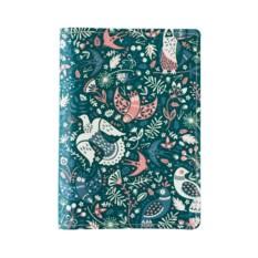 Обложка для паспорта Birds Purple