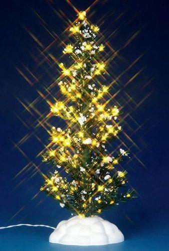 Новогодняя фигурка Светящаяся Елочка с прозрачными огнями