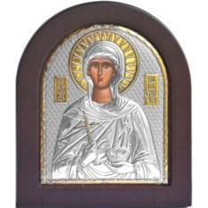 Серебряная икона Параскева Пятница Святая мученица