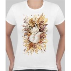 Женская футболка Лисенок
