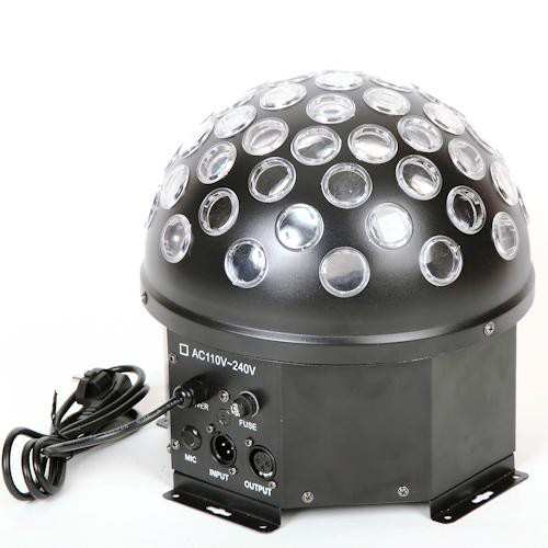 Вращающийся дискошар XC-H-021 LED Crystal Magic Ball