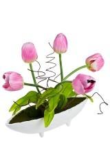 Композиция декоративная Дивные тюльпаны