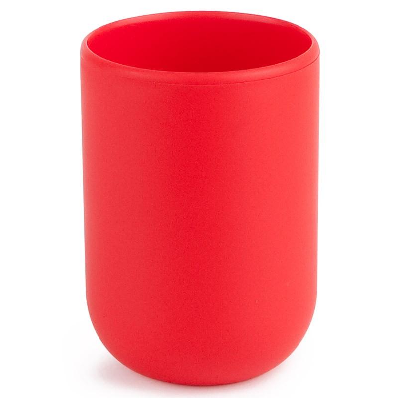 Красный стакан для ванной Touch