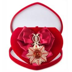 Большой Орден с малиновой лентой Юбилей 60
