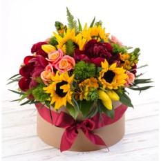 Букет цветов Солнце Тосканы