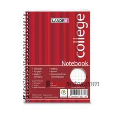 Тетрадь на спирали Landre College Notebook