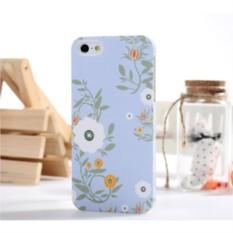 Задняя накладка на iPhone 5 голубая Bensy