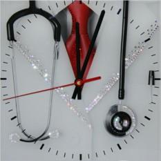 Часы с кристаллами Swarovski Доктор