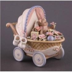 Музыкальная фигурка Мишка Porcelain Manufacturing