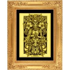 Картина из золота Дева