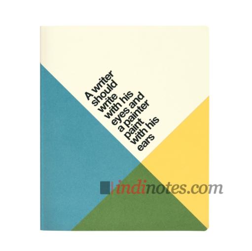 Записная книжка Quotes Writer Softcover A4 от Ogami
