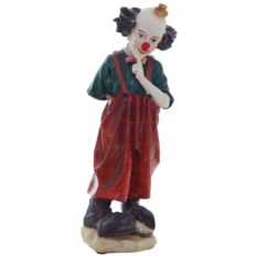 Декоративная фигурка Клоун в красных штанах
