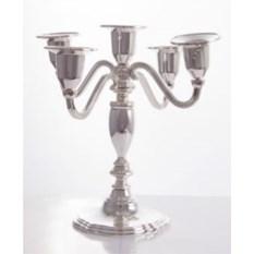 Канделябр из металла на 5 свечей