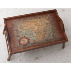 Столик-поднос Карта Африки