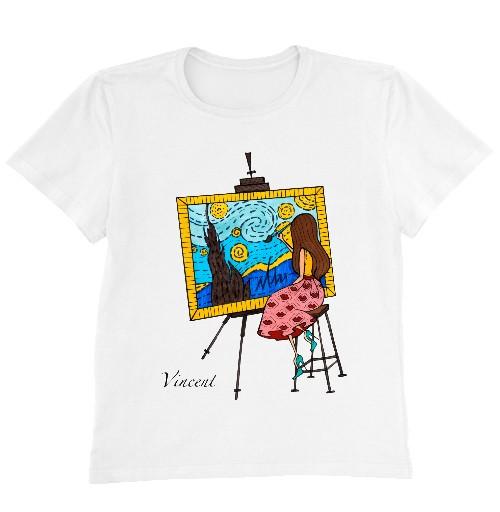 Женская футболка VINCENT