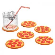Подставки под стаканы Pizza