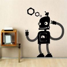 Интерьерная наклейка Робот