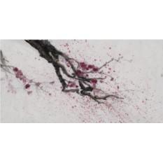 Картина Цветущая слива (Flowering plum)