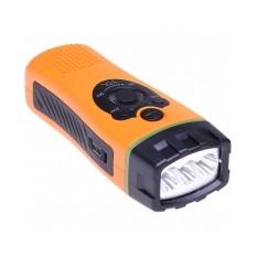 Вечный светодиодный фонарь с радио Dynamo