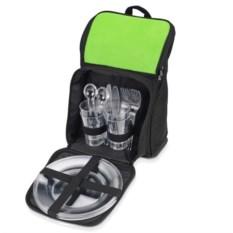 Зеленый рюкзак для пикника Стенли
