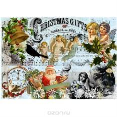Рисовая бумага для декупажа Рождество-242