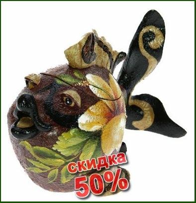 Шкатулка Рыбка 16*10*11 см