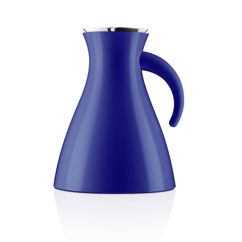 Синий термокувшин  Vacuum 1 л