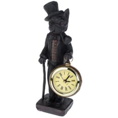 Настольные часы Пес джентльмен