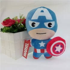 Игрушка Kawaii Superhero Captain America, 20 см