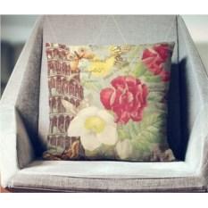 Декоративная наволочка Винтаж: Цветущий Рим