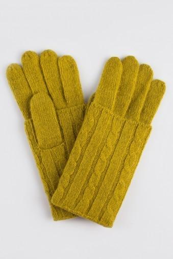Перчатки Алиса-2 (горчичные)