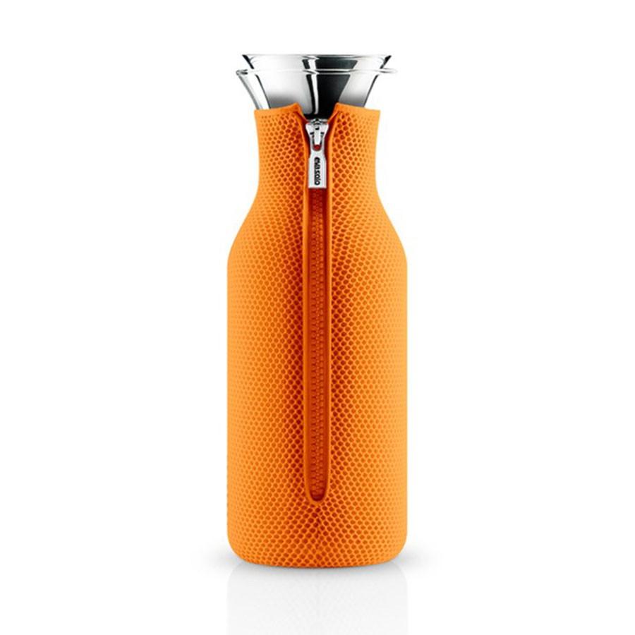 Оранжевый графин Fridge в неопреновом чехле 3D 1 л