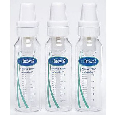 3 бутылочки для кормления Dr. Brown`s Natural Flow
