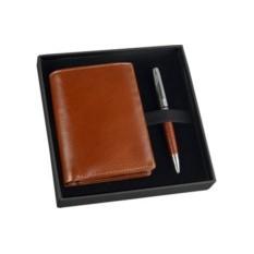 Подарочный набор: портмоне, шариковая ручка