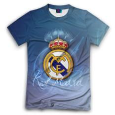 Мужская футболка 3D с полной запечаткой Real Madrid