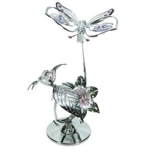 Фигурка декоративная «Бабочка на цветке»