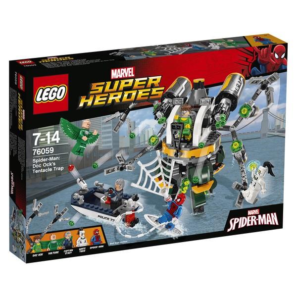 Конструктор LEGO Человек-паук: В ловушке Доктора Осьминога