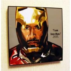 Картина в стиле поп-арт Железный человек