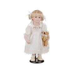 Фарфоровая кукла Сусанна с мягконабивным туловищем